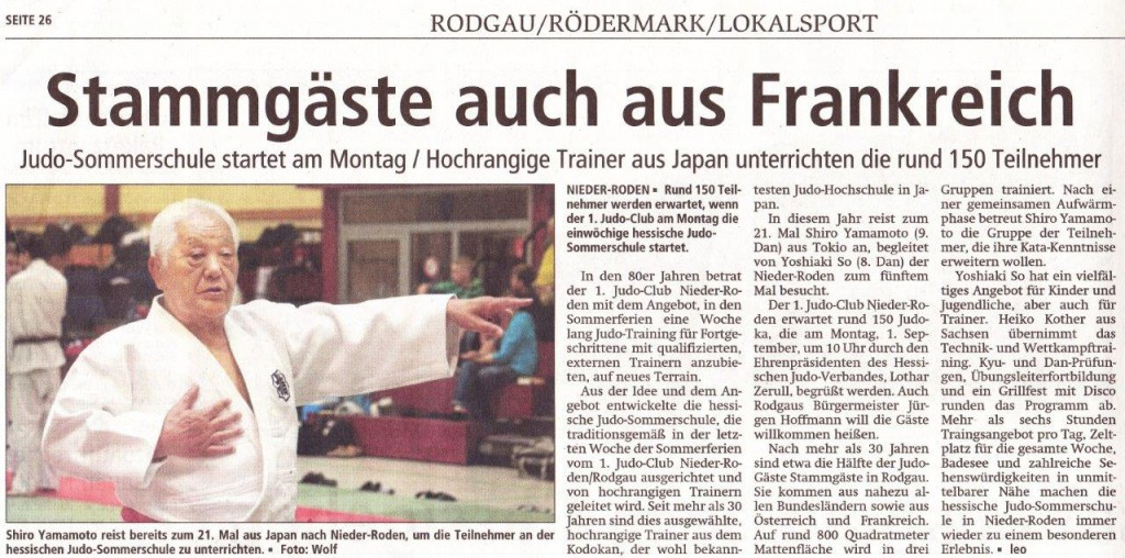 2014_Judo_Sommerschule_OffenbachPost_31.08.